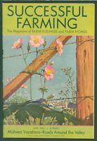 Vintage Successful Farming Magazine June 1935 Wild Flower Cover