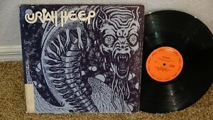 URIAH HEEP ORIGINAL SELF TITLED FIRST ALBUM 1970 VG+ RECORD !