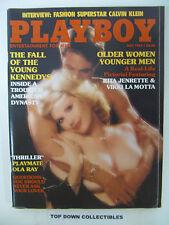 Playboy  Magazine   May   1984    Patty Duffek POTM/Thriller Girl Ola Ray
