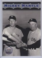 1996 Topps Stadium Club Members Only #MM8 Mickey Mantle New York Yankees Card