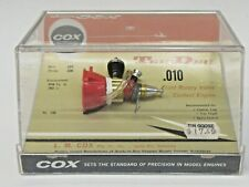 older vintage COX .010 TEE DEE  model Glow engine complete MINT in box UNUSED hk