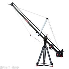 Proaim Fly 15ft/457cms Crane jib arm with tripod Stand+rubber spreader load 10kg