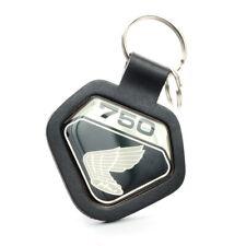 Honda CB 750 Four K0 Schlüsselanhänger Emblem Schwarz Leder Key Fob Chain SOHC