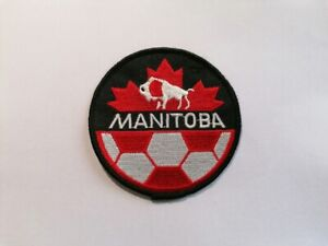 Manitoba Soccer Association - reg.Canada embroidered patch