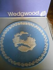 Wedgewood 1969 Christmas Plate With Original Box