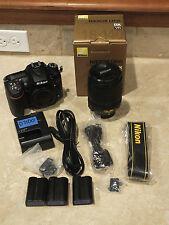 Nikon D D7100 24.1 MP Digital SLR Camera - Black Kit w/ AF-S DX 18-140mm