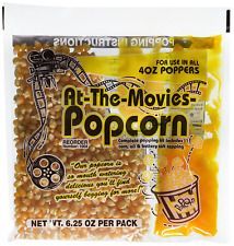 At The Movies Popcorn Amp Coconut Oil Portion Packs Case Of 24 4oz Kettle