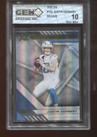 Justin Herbert RC 2020 XR #103 Los Angeles Chargers Rookie GEM MINT 10