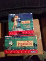DISNEY'S POCAHONTAS TRADING CARDS 36 PACK LOT 1995 NEW FACTORY SEALED BOX