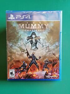 PS4 The Mummy Demastered Sony PlayStation 4 Limited Run Games #372 Brand New!