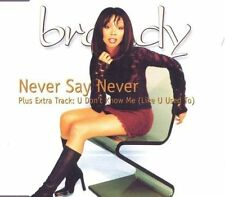 BRANDY Never Say Never/U Don 't know me (2000) [Maxi-CD]