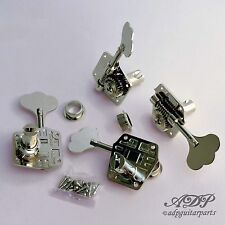 MECANIQUES BASSE GOTOH ResOLIte Light Weigth P-J BASS TUNERS 4L Reversible GB640