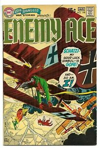 Star Spangled War Stories #148 Jan. 1970, Enemy Ace, Joe Kubert 8.5 VF+