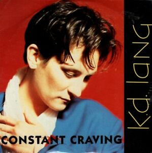"""K.D. Lang - """" Constant Craving """" - 1992 , 3 Track CD - NEW & SEALED-FREE UK P&P."""