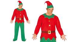 Guirca Costume Elfo Aiutante Babbo Natale Carnevale Uomo adulto Mod. 42413 T.u