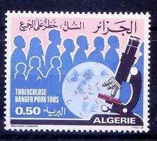 Algeria MNH, Tuberculosis, Disease, Medicine, Microscope  -M01