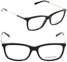 Michael Kors MK4030 3163 54mm Rectangle Eyeglasses Black/Demo Lens