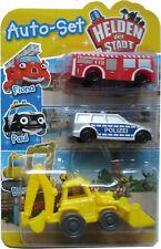 Autoset Helden der Stadt Fiona, Paul & Bernd