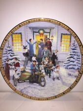 HARLEY DAVIDSON HOLIDAY MEMORIES LIMITED ED 1997 CHRISTMAS COLLECTOR'S PLATE