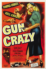 "Gun Crazy Movie Poster Replica 13x19"" Photo Print"