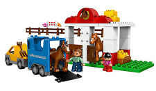 LEGO 5648 - Duplo, Town: Recreation - Horse Stables - NO BOX