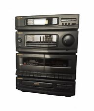 Panasonic SA-DH30 AM/FM Stereo-Dual-Cassette-CD-Compact-Component-System - NEW