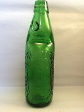 Pictorial Green Codd bottle . 10oz Scarborough Brewery Company Green Codd.