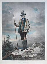 Original-Lithographien (1800-1899) aus Europa und Österreich