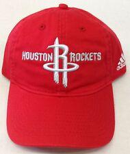 NBA Houston Rockets Adidas Buckle Back Cap Hat Beanie Style #EV55Z NEW!