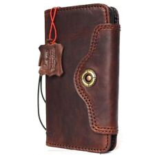 genuine vintage leather Case fo samsung galaxy note 8 book wallet cover holder R