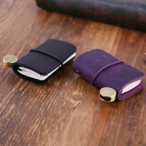 Cover Notepad Journal Booklet Notebook Mini Notebook Leather Travel Book