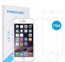 iPhone 8 Screen Protector [2 Pack], Poweradd Tempered Glass Screen Protector ...
