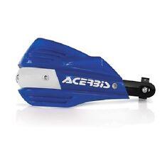 Acerbis X-Factor Hand Guards Handlebar Motorcycle Dirt Bike Blue/White