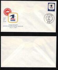 #1396 FDC 7-1-1971 Babylon NY Inauguration of USPS   FD7747