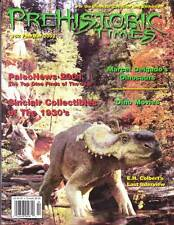 THE PREHISTORIC TIMES #52 - magazine of Dinosaur collecting, MARCEL DELGADO