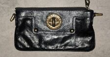 Marc By Marc Jacobs Black Leather Clutch Bag Pre-Owned