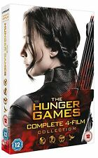 THE HUNGER GAMES COMPLETE COLLECTION DVD BOX SET NEW 1-4 1 2 3 4