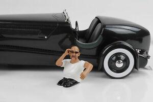 Cool Driver George Figurine Figurines 1:18 American Diorama No Car