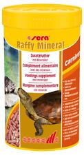 Sera reptil raffy Mineral - Mineralfuttersticks für Schildkröten 250ml