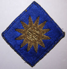 WW2 Bullion 40th Division California National Guard Shoulder Patch - Off Uniform