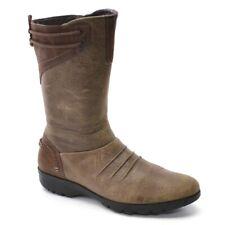 Ladies Merrell Vera Mid Zip Boots 8.5 / 39 Barnwood Leather Round Booties Shoes