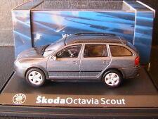 SKODA OCTAVIA COMBI SCOUT 2 ANTHRACITE GREY METAL 2007 ABREX 143AB011CF 1/43 SW