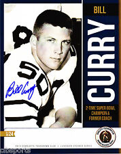 BILL CURRY signed 8x10 Photograph ALABAMA Green Bay PACKERS auto PHOTO