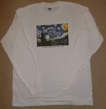 Starry Night Long Sleeve T-shirt.Museum Store.Fine Art.MET. MOMA.XL.2XL.3X.4X.5X