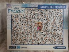 Disney Frozen Impossible Puzzle (1000 Piece Jigsaw, Clementoni)