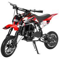 Ride-On Gas Motorized Mini Dirt Bike Pocket Bike 49cc 2-Stroke Bike Scooter