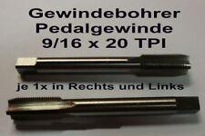 9/16x20 TPI Pedalgewindebohrer  Pedalgewinde Gewindebohrer Fahrradgewinde