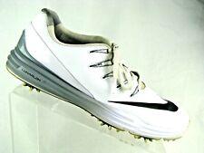 Nike Golf Lunarlon Control 4 Shoes 819037 - 101 White Size 9
