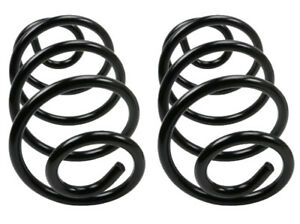 2 Coil Springs MOOG Rear Left & Right for Buick Chevy Oldsmobile Pontiac