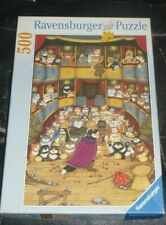 ULTRA RARE 500 PIECE JIGSAW PUZZLE,ENCORE,CRAZY CATS,LINDA JANE SMITH,1999